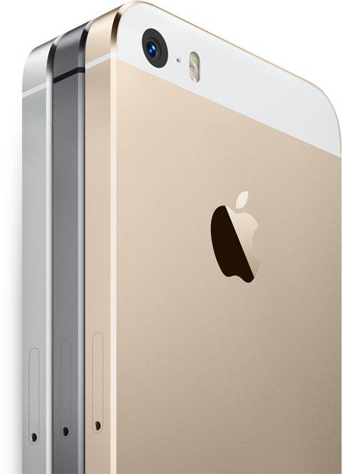iPhone 5S en sus tres colores