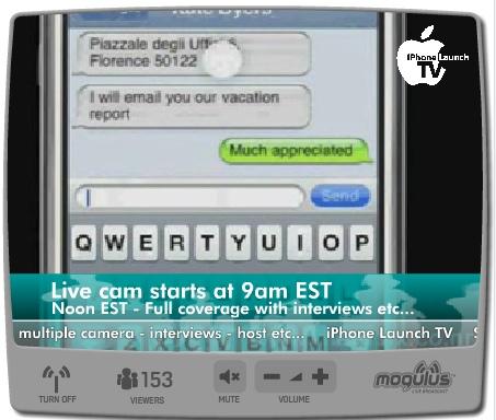 iphone en vivo