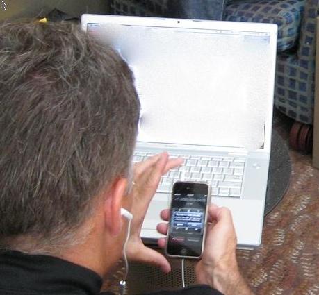 iPhone cazado