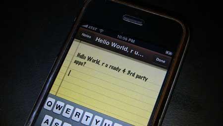 Hello world en el iPhone