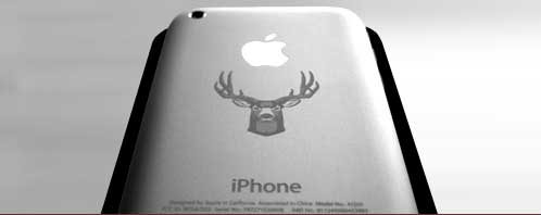 Engraved iPhone