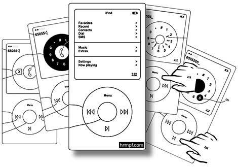 iPhone nano patent