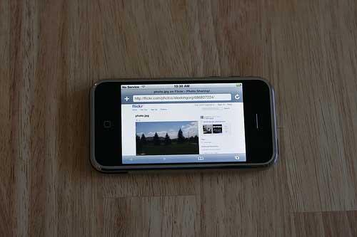 iPhone sin phone