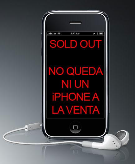 No quedan iPhones