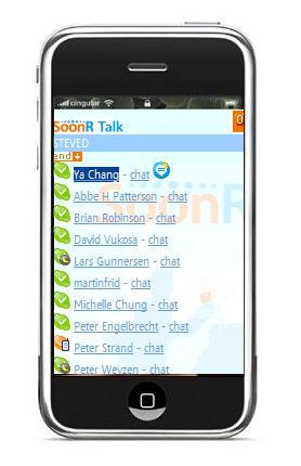 Skype en el iPhone