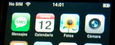 iPhone en castellano