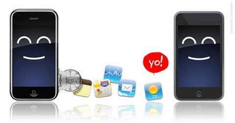 Aplicaciones en el iPod Touch