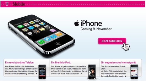 El iPhone de T-Mobile