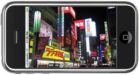 iPhone en Akihabara