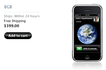 iPhone de cinco en cinco