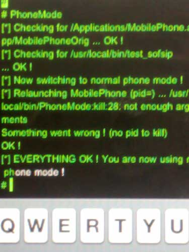 VoIP en el iPhone