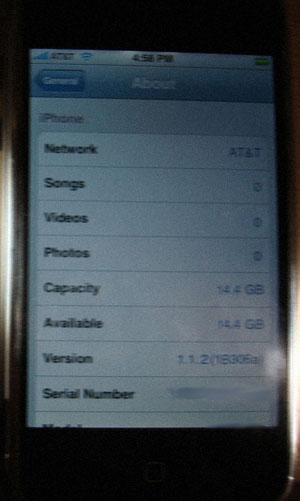 ¿iPhone de 16Gb?