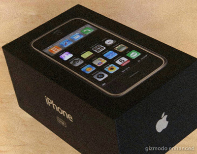Caja del nuevo iPhone