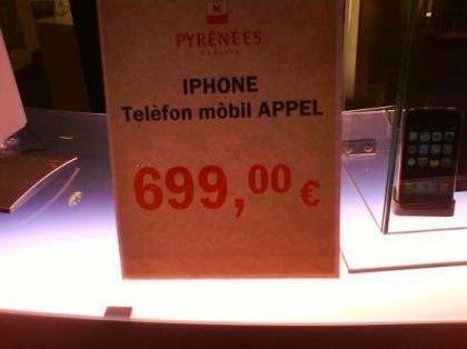 iPhone a la venta en Pyrènèes.