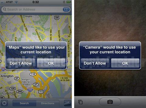 GPS en el iPhone 3G