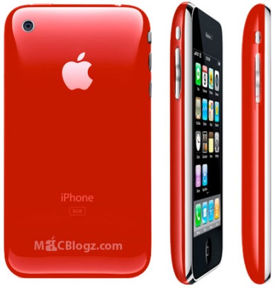 iPhone 3G Product [RED]