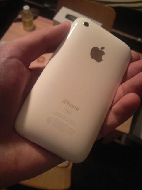 iPhone 3G blanco 16Gb