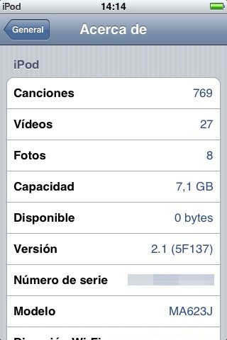 Nuevo firmware 2.1 para iPhone y iPod Touch