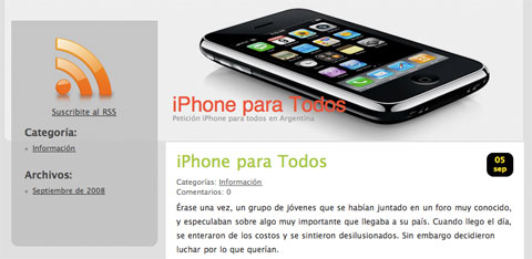 iPhone para todos