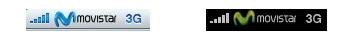 Logo de Movistar en el iPhone