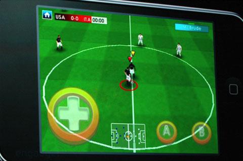 Fútbol en el iPod Touch