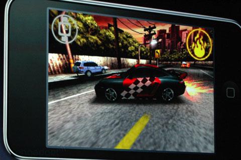 Need for Speed en el Nuevo iTouch
