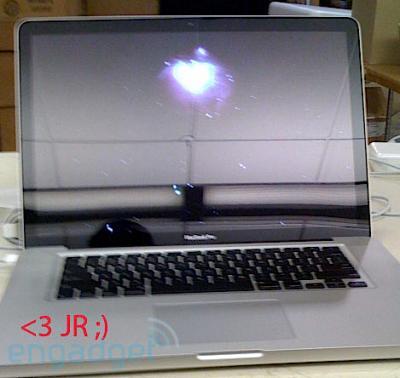 Supuesto nuevo Macbook Pro de Apple