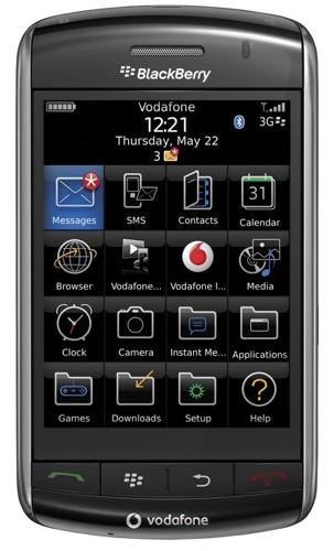 Blackberry Storm 9500, competidora del iPhone