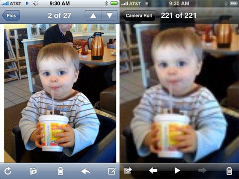 Bug con las imágenes del carrete del iPhone
