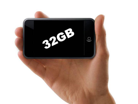 ¿iPhone de 32Gb pronto?