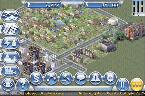 Sim City en el iPhone