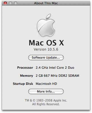 Actualización OS X 10.5.6 rompe el modo DFU