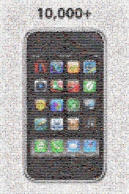Mosaico de Apps de iPhone