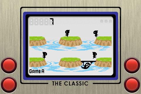 Game & Watch en iPhone