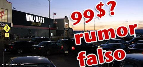 Rumor falso en Wal-Mart