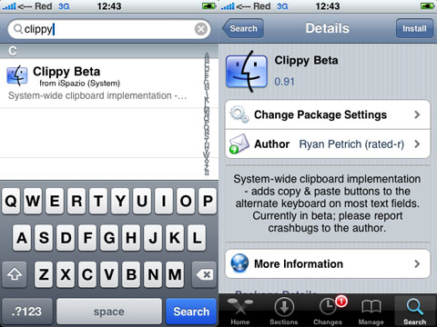 Clippy en Cydia