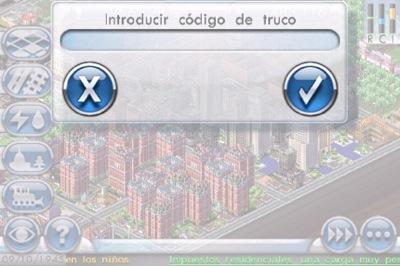 Trucos para el Sim City