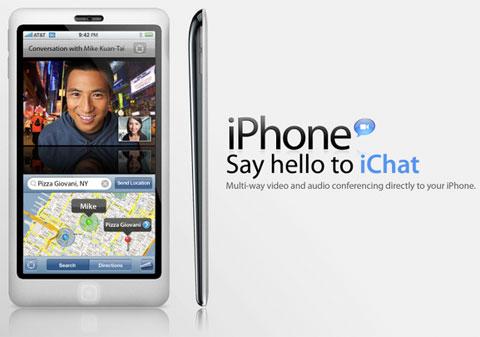 Concepto de nuevo iPhone