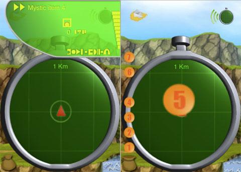 Radar de Dragon Ball en el iPhone