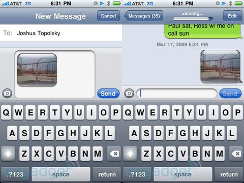 MMS en el iPhone