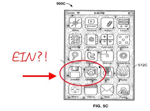 iPhone con jailbreak en patente