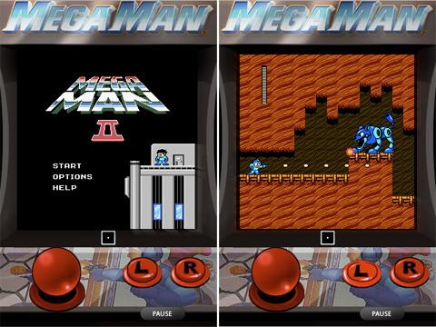 Megaman en el iPhone