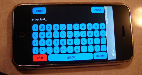 Prototipo de iPhone de 2006