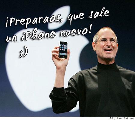 Quizás sale un re-nuevo iPhone 3G ;)