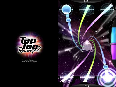 Tap Tap Revenge 2 en modo dos jugadores