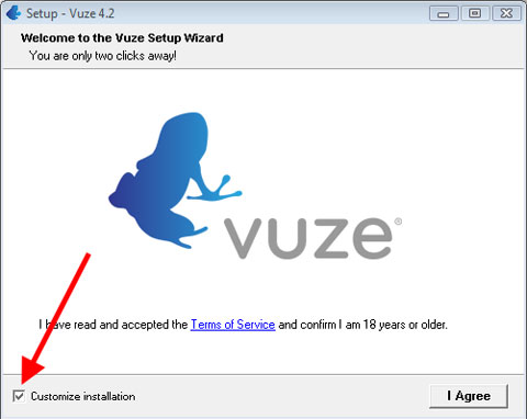 Instalación de Vuze