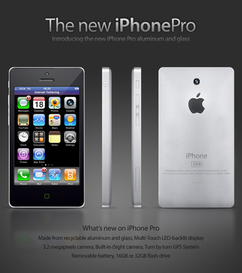 Diseño de iPhone Pro