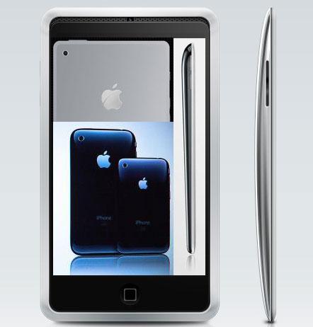 Diseños de iPhones imaginarios