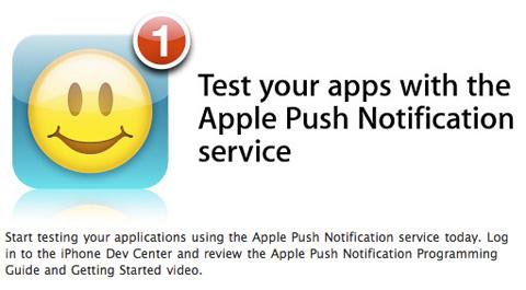Notificaciones Push disponibles