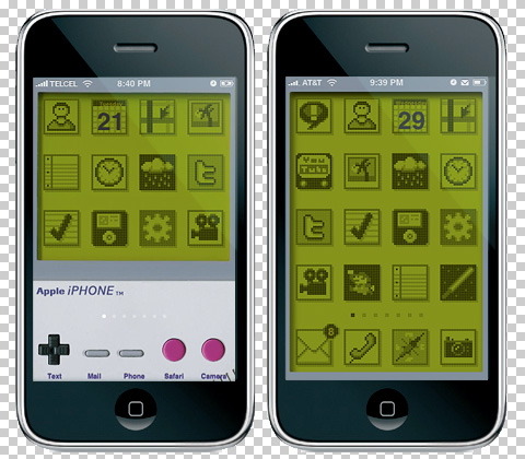 Tema iGameBoy para iPhone